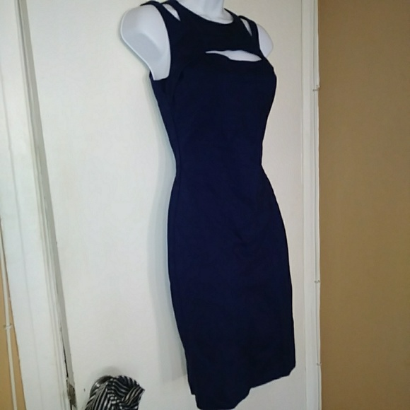 Guess by Marciano Los Angeles blue dress